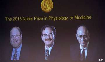 two americans german win 2013 nobel prize for...