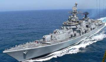 two indian warships dock in mozambique - India TV