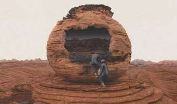us marine claims he was posted on mars for 17...