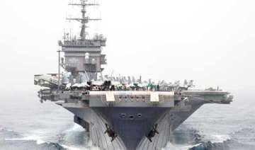 us deploys aircraft carrier to gulf - India TV
