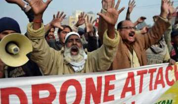 us drone attack kills two in pakistan first hit...