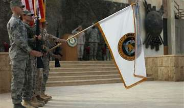 us forces mark end of iraq mission - India TV