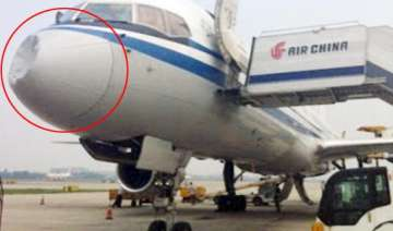 was air china jet hit by ufo - India TV