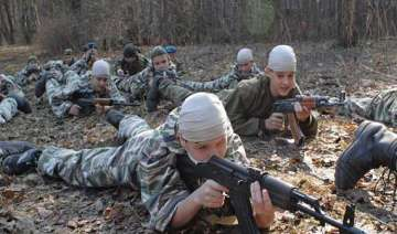 watch how russian army trains teenage kids to...