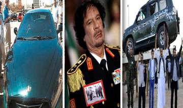 gaddafi s car collection watch in pics - India TV