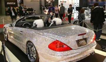 watch in pics the diamond studded mercedes benz -...