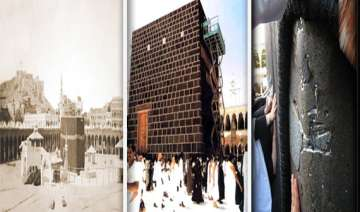 watch rare pictures of the holy cities of mecca...