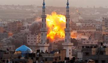 watch how israeli airstrikes are causing...