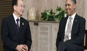 wen meets obama - India TV