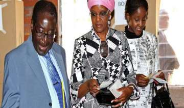 zimbabwe president mugabe s daughter marries...