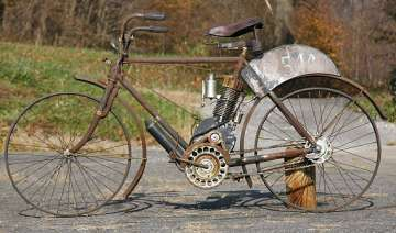 105 year old indian bicycle to fetch rs 41.48...