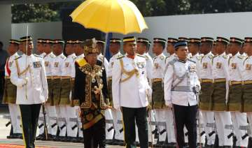 84 year old sultan becomes malaysia s oldest king...