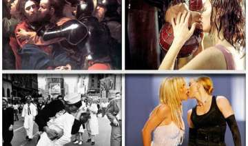 10 famous kisses in history - India TV