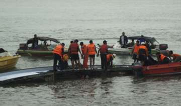 110 rescued 90 still missing after boat capsizes...