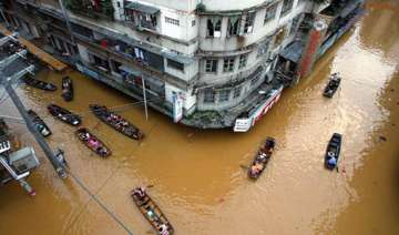 13 000 affected in china floods - India TV