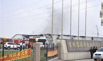 119 killed as fire sweeps through china...