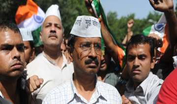 aap activists detained for trying to enter pm s...
