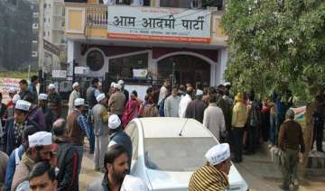 aap to move out following neighbours complaint -...