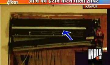 ac explodes in kanpur mechanic killed - India TV