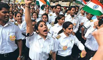 ai pilots to go on indefinite hunger strike from...