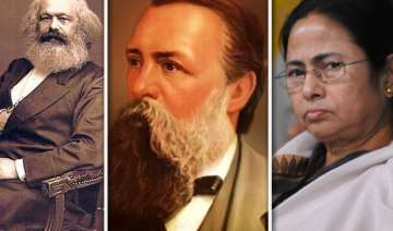 achtung mamata to remove marx engels from bengal...