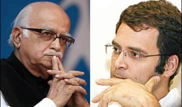 advani backs rahul for taking up farmers cause -...