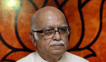 advani says crores being spent to project gandhi...