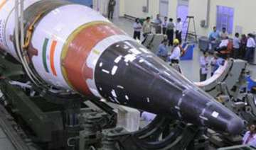 agni v launch put off till thursday due to bad...