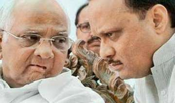 ajit outwitted uncle sharad pawar in ncp...