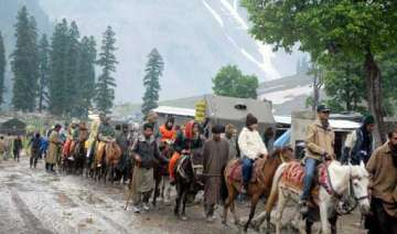 amarnath yatra to begin june 28 from baltal route...