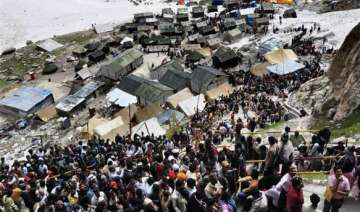 amarnath yatra suspended due to bad weather -...