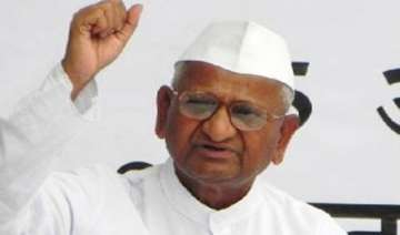 anna hazare gives call tear burn copies of govt...