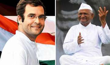 anna hazare says govt acting under rahul gandhi s...