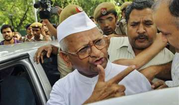 anna hazare says he is willing to face bullets...