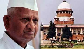 anna hazare wants to keep higher judiciary out of...