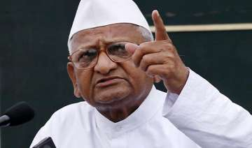anna hazare trashes charge of his movement being...