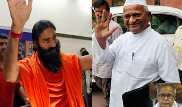 anna ramdev are self appointed messiahs says...