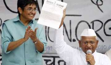 anna team rejects lokpal bill cleared by union...