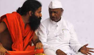 anna and ramdev to fast in delhi on sunday -...