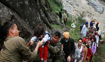 anxious relatives of uttarakhand pilgrims flood...