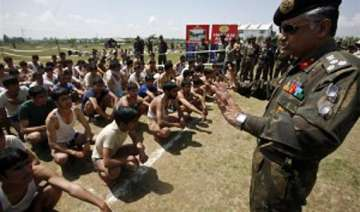 armed forces to hold recruitment camps in naxal...