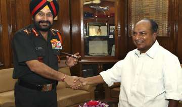 army chief meets antony discusses keran...