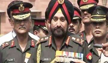 loc attack army chief pulls up top formation...