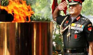 army chief has a right to retire with dignity...