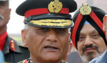army chief says age issue is that of integrity...