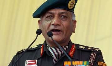 army chief says no clue to early resolution of...