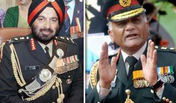 army lost sheen in age row environment vitiated...