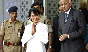 aung san suu kyi comes to india after 40 years -...