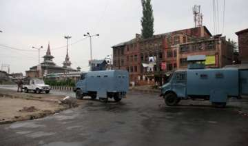 authorities impose restrictions in srinagar -...