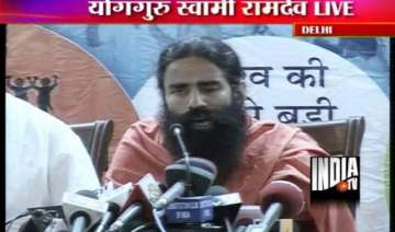 baba ramdev to launch hunger strike from june 4 -...